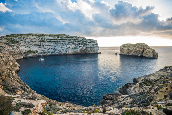 Gozo Fungus rock at Sunset
